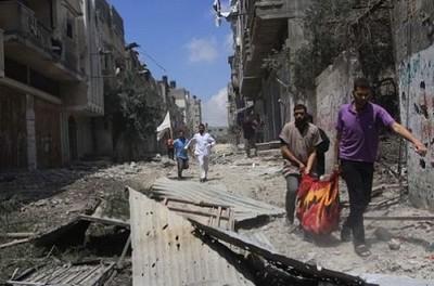 Ghaza héroïque face à la barbarie sioniste.2 dans actualité chijaya