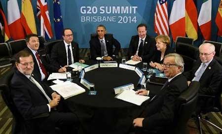 Sommets de Pékin et de Brisbane: Pas lieu de stopper la percée réalisée par les forces opposées à l'hégémonie US.