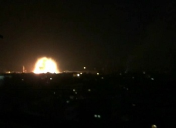 L'attaque suicide à Qaboune